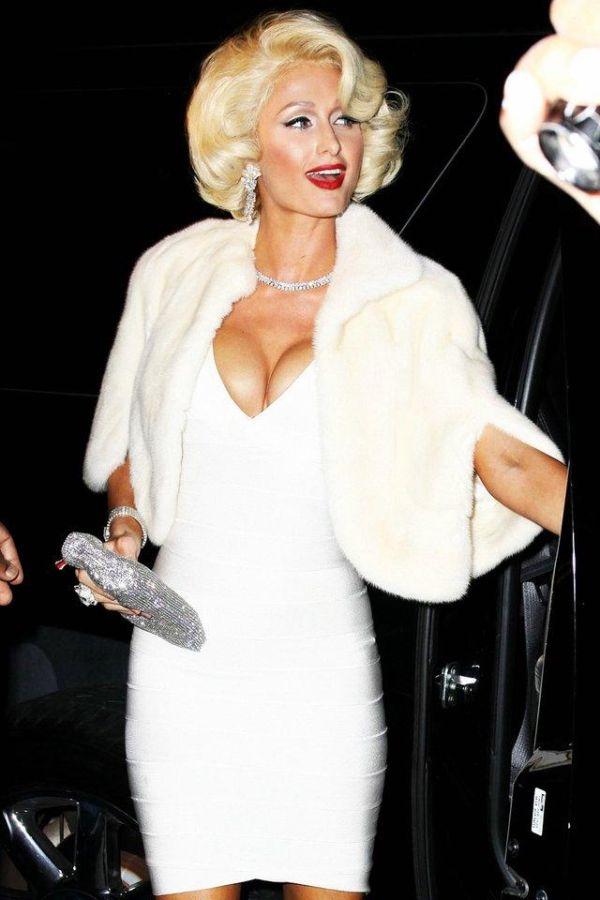 Paris Hilton al estilo Marilyn Monroe